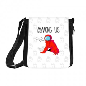 Merch Red Crewmate Shoulder Bag Among Us