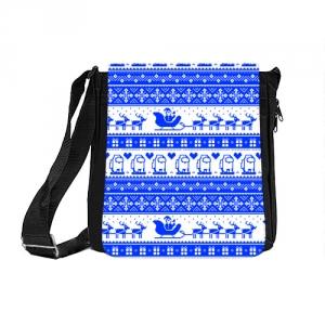 Merch Shoulder Bag Among Us Christmas Pattern
