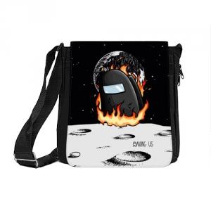 Collectibles - Black Shoulder Bag Among Us Fire