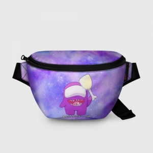Merchandise Bum Bag Among Us Imposter Purple