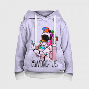 - People 3 Child Hoodie Full Front White 500 152