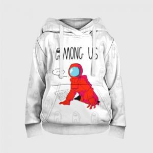Merchandise - Red Crewmate Kids Hoodie Among Us