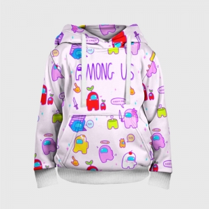 - People 3 Child Hoodie Full Front White 500 156