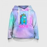 - People 3 Child Hoodie Full Front White 500 175