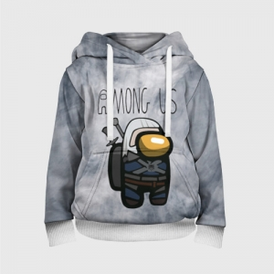 Collectibles Kids Hoodie Among Us X The Witcher