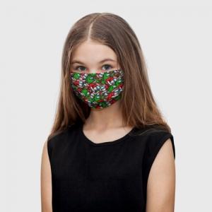 Merchandise - Kids Face Mask Santa Imposter Among Us