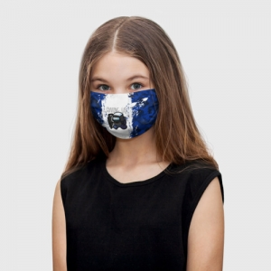 Collectibles Kids Face Mask Swat Among Us White Blue