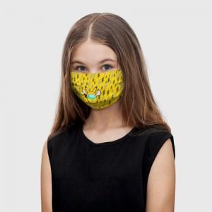 Collectibles Yellow Kids Face Mask Among Us Pikachu