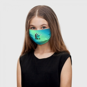 Collectibles Kids Face Mask Among Us Death Behind Cyan