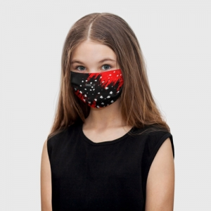 Collectibles Kids Face Mask Among Us Blood Black