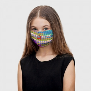 Collectibles Kids Face Mask Among Us Pattern Colored