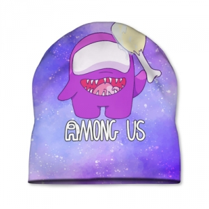 Merchandise Cap Among Us Imposter Purple