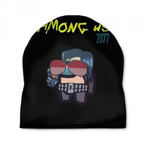 Merchandise Cap Among Us X Cyberpunk 2077
