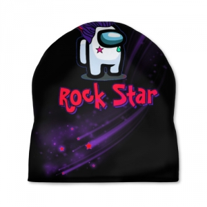 Merchandise Among Us Rock Star Cap