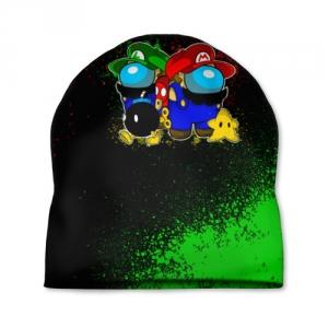 Merchandise Cap Among Us Mario Luigi