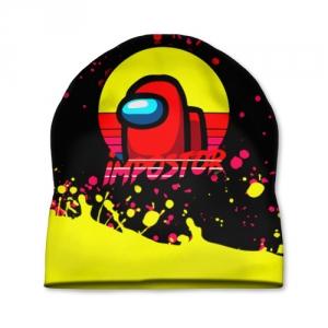 Merch - Cap Among Us Impostor Red Yellow