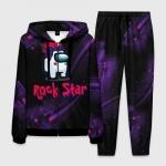 Merchandise - Among Us Rock Star Homewear Men'S Set