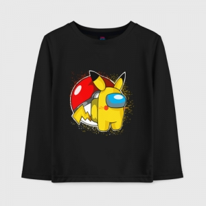 Collectibles Kids Cotton Long Sleeve Among Us Pokemon