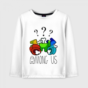 Collectibles Kids Cotton Long Sleeve Among Us Who Did It?