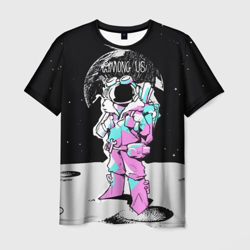 Merch Men'S T-Shirt Among Us Open Space