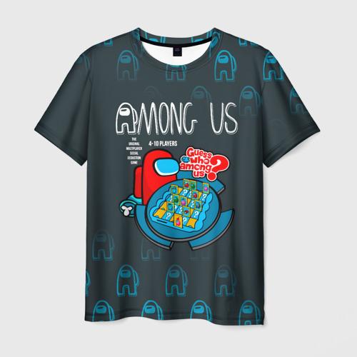 Merch Among Us Men'S T-Shirt Among Us Guess Who Board Game