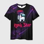 Collectibles Among Us Rock Star Men'S T-Shirt