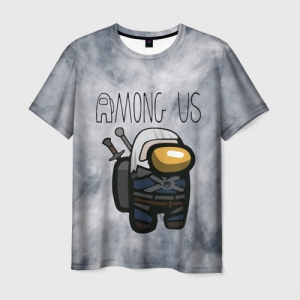 Collectibles Men'S T-Shirt Among Us X The Witcher