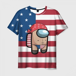Collectibles Men'S T-Shirt Among Us American Boy Ricardo Milos