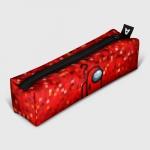 Merch - Red Pixel Pencil Case Among Us 8Bit