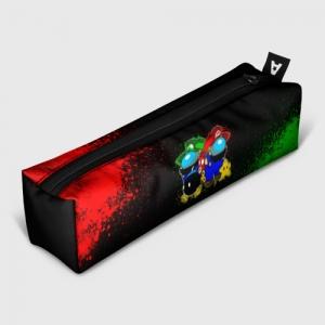 Merch Pencil Case Among Us Mario Luigi