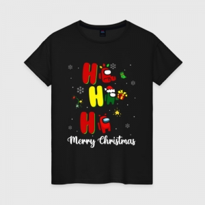 Merchandise Women'S Cotton Shirt Christmas Among Us