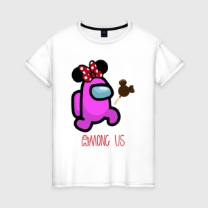 Collectibles Women'S Cotton Shirt Among Us Minnie Mouse