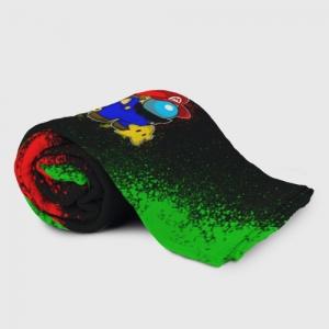 Merchandise Plaid Throw Among Us Mario Luigi