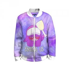 Merchandise Kids Bomber Among Us Imposter Purple