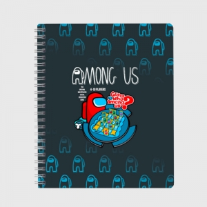 Merchandise Among Us Exercise Book Guess Who Board Game