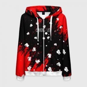 - People 6 Man Hoodie Jacket Front White 500 92