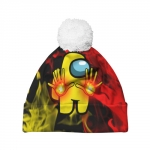 Collectibles Fire Mage Pom Pom Beanie Among Us Flames