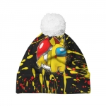 - People 7 Hat Pompom Front White 500 97