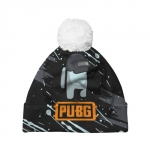 - People 7 Hat Pompom Front White 500 99
