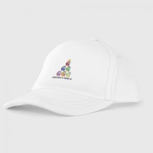 - People 7 Kids Baseball Cap Front White 500 20
