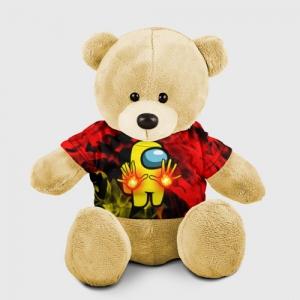Merchandise Fire Mage Teddy Bear Among Us Flames
