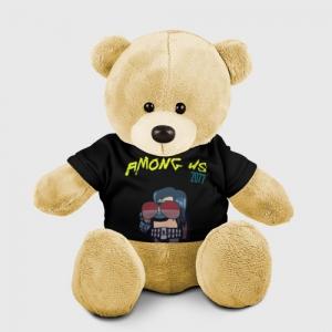 Merchandise Teddy Bear Among Us X Cyberpunk 2077