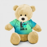 - People 8 Bear Toy Front Yellow 500 124
