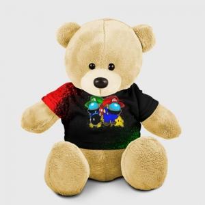 Merchandise Teddy Bear Among Us Mario Luigi