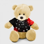- People 8 Bear Toy Front Yellow 500 127