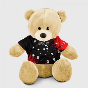 Merchandise Teddy Bear Among Us Blood Black