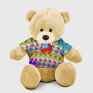 Merchandise Teddy Bear Among Us Pattern Colored