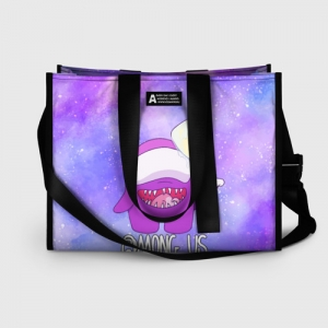 Collectibles Shopping Bag Among Us Imposter Purple