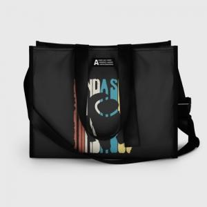 Collectibles Shopping Bag Kinda Sus Among Us Black