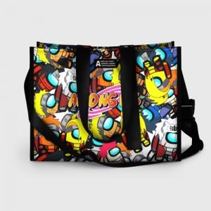 Merchandise - Shopping Bag Naruto X Among Us Crossover